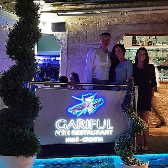 Famous tennis star dine at restaurant Gariful!