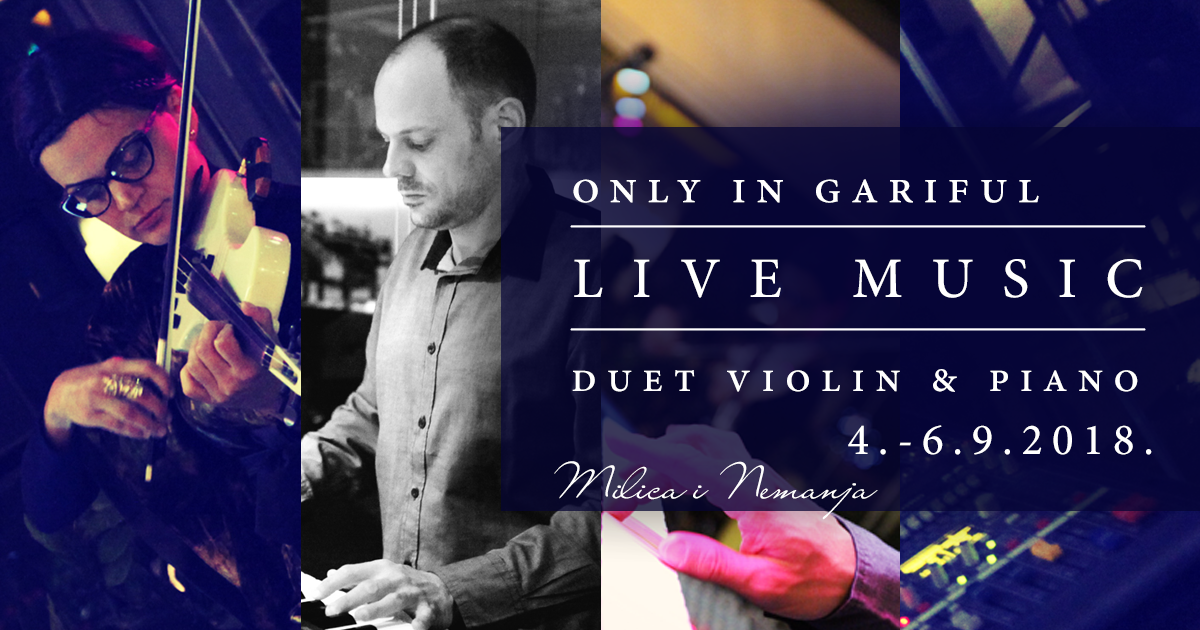 Violin & Piano duo exclusively in Gariful restaurant